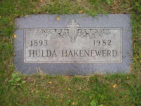 HAKENEWERD, HULDA - Bremer County, Iowa | HULDA HAKENEWERD