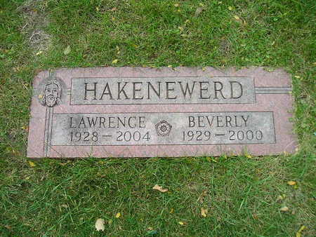 HAKENEWERD, LAWRENCE - Bremer County, Iowa | LAWRENCE HAKENEWERD