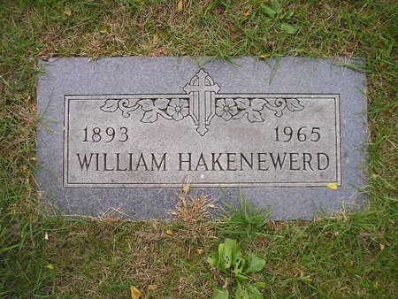 HAKENEWERD, WILLIAM - Bremer County, Iowa | WILLIAM HAKENEWERD