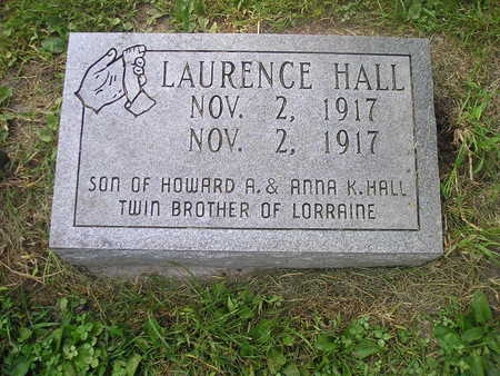 HALL, LAURENCE - Bremer County, Iowa | LAURENCE HALL
