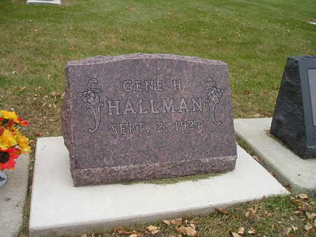 HALLMAN, GENE H - Bremer County, Iowa | GENE H HALLMAN