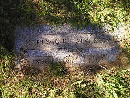 HALVORSEN, HARTWIG F - Bremer County, Iowa | HARTWIG F HALVORSEN