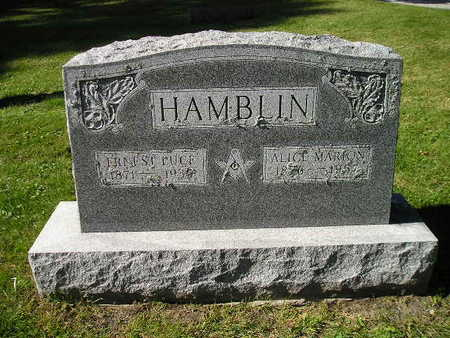 HAMBLIN, ALICE - Bremer County, Iowa | ALICE HAMBLIN
