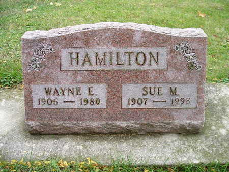 HAMILTON, SUE M - Bremer County, Iowa | SUE M HAMILTON