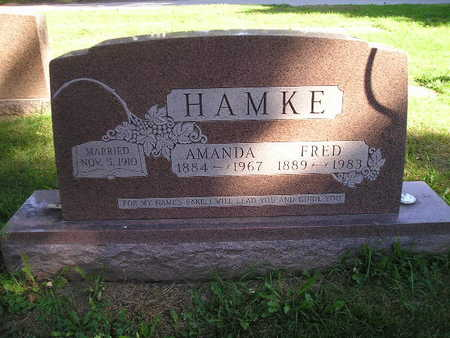 HAMKE, FRED - Bremer County, Iowa | FRED HAMKE