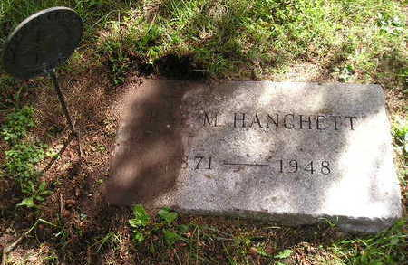 HANCHETT, RAY M. - Bremer County, Iowa | RAY M. HANCHETT