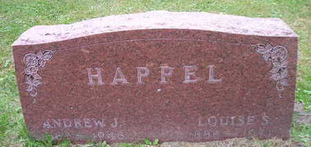 HAPPEL, ANDREW J - Bremer County, Iowa | ANDREW J HAPPEL