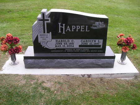HAPPEL, HAROLD C - Bremer County, Iowa | HAROLD C HAPPEL