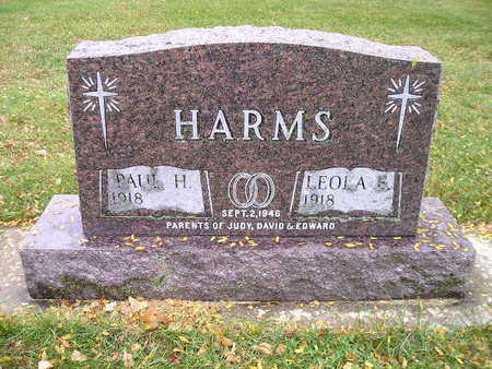HARMS, PAUL H - Bremer County, Iowa | PAUL H HARMS