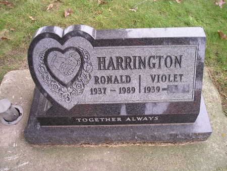 HARRINGTON, VIOLET - Bremer County, Iowa | VIOLET HARRINGTON