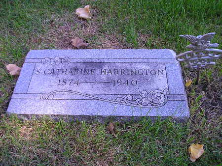 HARRINGTON, S CATHARINE - Bremer County, Iowa | S CATHARINE HARRINGTON
