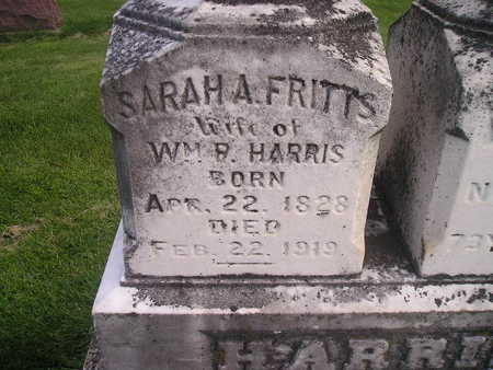 FRITTS HARRIS, SARAH - Bremer County, Iowa | SARAH FRITTS HARRIS