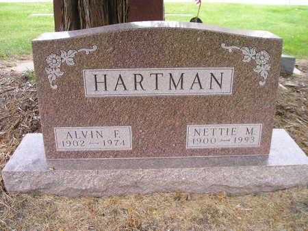 HARTMAN, ALVIN F - Bremer County, Iowa | ALVIN F HARTMAN