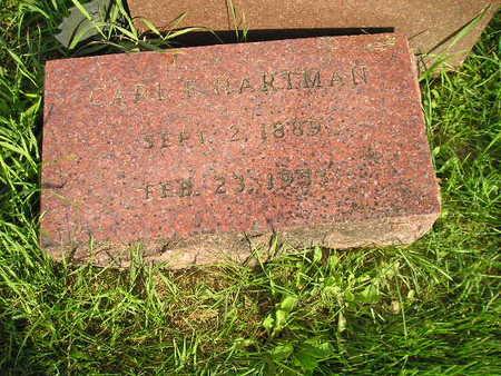HARTMAN, CARL F - Bremer County, Iowa | CARL F HARTMAN