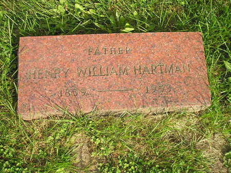 HARTMAN, HENRY WILLIAM - Bremer County, Iowa | HENRY WILLIAM HARTMAN