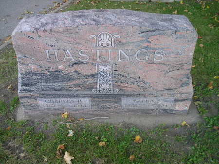 HASTINGS, CHARLES H - Bremer County, Iowa | CHARLES H HASTINGS