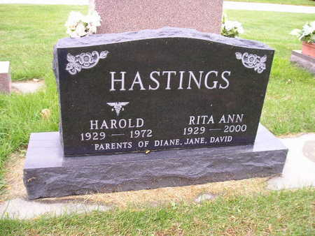 HASTINGS, RITA ANN - Bremer County, Iowa | RITA ANN HASTINGS