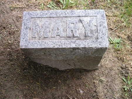 HASTINGS, MARY - Bremer County, Iowa   MARY HASTINGS