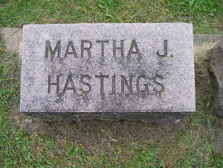 HASTINGS, MARTHA J - Bremer County, Iowa | MARTHA J HASTINGS