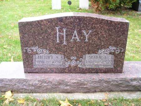 HAY, HENRY A - Bremer County, Iowa | HENRY A HAY