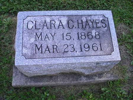 HAYES, CLARA C - Bremer County, Iowa | CLARA C HAYES
