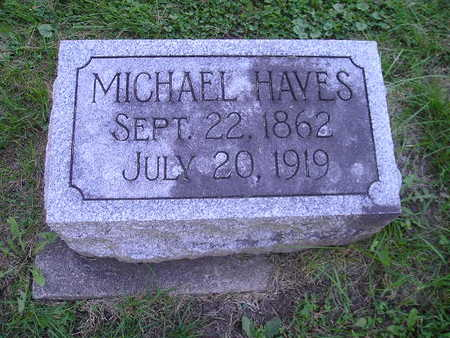 HAYES, MICHAEL - Bremer County, Iowa | MICHAEL HAYES