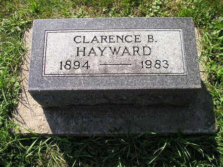 HAYWARD, CLARENCE B - Bremer County, Iowa | CLARENCE B HAYWARD