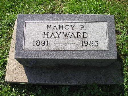 HAYWARD, NANCY P - Bremer County, Iowa   NANCY P HAYWARD