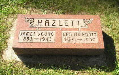 HAZLETT, FANNIE - Bremer County, Iowa | FANNIE HAZLETT