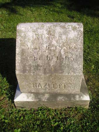 HAZLETT, ROY - Bremer County, Iowa | ROY HAZLETT