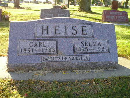 HEISE, CARL - Bremer County, Iowa | CARL HEISE