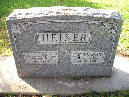 HEISER, CORA MAY - Bremer County, Iowa | CORA MAY HEISER