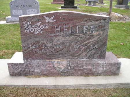 GEUTHER HELLER, VELDA - Bremer County, Iowa | VELDA GEUTHER HELLER
