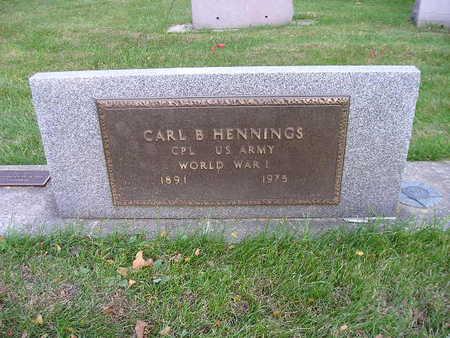 HENNINGS, CARL B - Bremer County, Iowa | CARL B HENNINGS