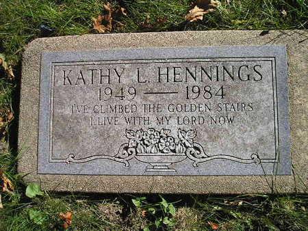 HENNINGS, KATHY L - Bremer County, Iowa | KATHY L HENNINGS