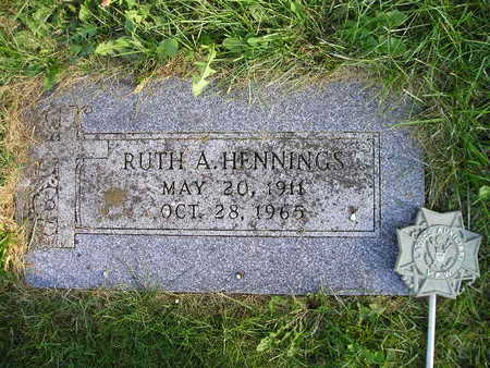 HENNINGS, RUTH A - Bremer County, Iowa | RUTH A HENNINGS