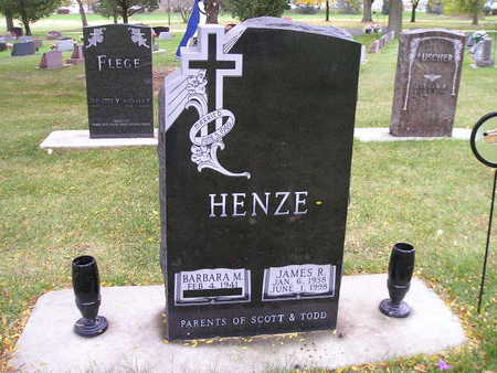 HENZE, JAMES R - Bremer County, Iowa | JAMES R HENZE