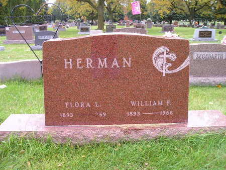 HERMAN, WILLIAM F - Bremer County, Iowa | WILLIAM F HERMAN