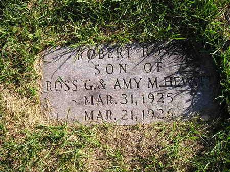 HEWITT, ROBERT ROSS - Bremer County, Iowa | ROBERT ROSS HEWITT