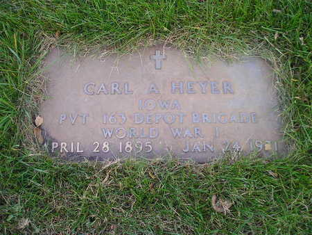 HEYER, CARL A - Bremer County, Iowa | CARL A HEYER