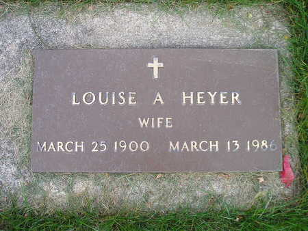 HEYER, LOUISE A - Bremer County, Iowa | LOUISE A HEYER