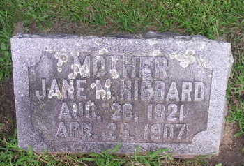 HIBBARD, JANE - Bremer County, Iowa | JANE HIBBARD
