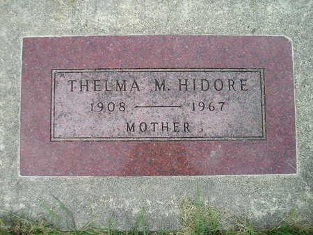 HIDORE, THELMA M - Bremer County, Iowa | THELMA M HIDORE