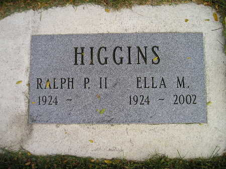 HIGGINS, ELLA M - Bremer County, Iowa | ELLA M HIGGINS