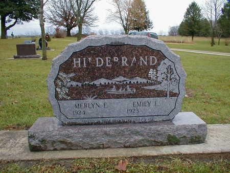 HILDEBRAND, MERLYN E - Bremer County, Iowa | MERLYN E HILDEBRAND