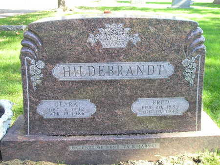 HILDEBRANDT, CLARA - Bremer County, Iowa | CLARA HILDEBRANDT