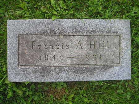 HILL, FRANCIS A - Bremer County, Iowa | FRANCIS A HILL