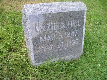 HILL, LIZZIE A - Bremer County, Iowa | LIZZIE A HILL
