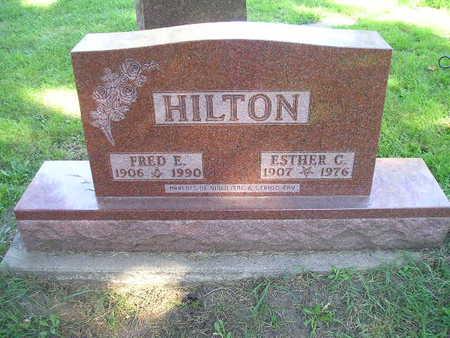 HILTON, FRED E - Bremer County, Iowa | FRED E HILTON