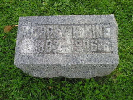HINE, MURRAY N - Bremer County, Iowa | MURRAY N HINE